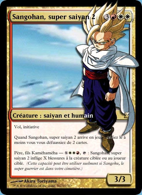Sangohan super saiyan 2 - Sangohan super saiyan 3 ...