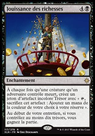 Carte Au Tresor Magic.Magiccorporation Jouissance Des Richesses Ixalan