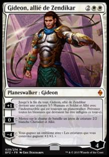 Gideon, allié de Zendikar Planeswalker Ally Deck