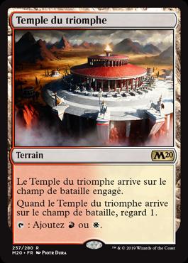 NM MTG Magic Français Temple du silence Magic 2020 n°256