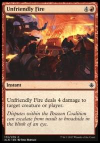 Unfriendly Fire