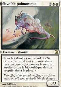 SLIVOIDE PULMONIQUE PULMONIC SLIVER SPIRALE TEMPORELLE CARTE MAGIC MTG RARE VF