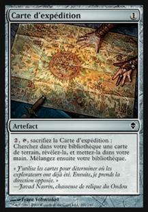 Carte d'Expédition