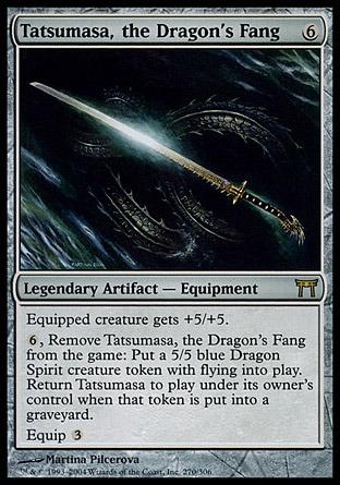 Tatsumasa the Dragon/'s Fang Champions of Kamigawa