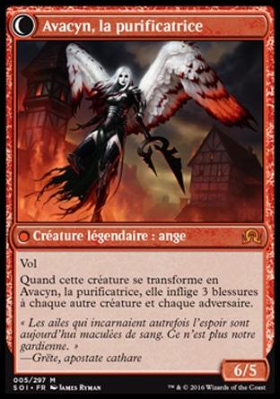 Français NM MTG Magic Liste des cartes recto-verso Innistrad n°T0